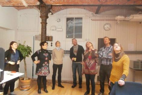 """""""Iedvesmo jauniešus ilgtspējībai!"""" partnerorganizāciju tikšanās Stokholmā"""