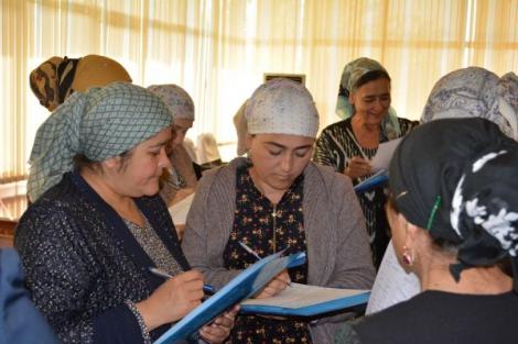 """Projekts """"Sievietes balss: Sieviešu līdzdalības stiprināšana Centrālāzijas valstu demokrātiskajos procesos un publiskajā pārvaldē"""""""