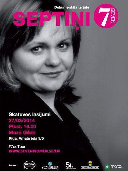 Rīgā top nebijis projekts SEPTIŅI, dokumentāla izrāde, kura guvusi pasaules atzinību